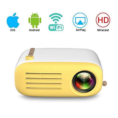 UYKIKUI Full HD Projector Projection Screen Size 40-80 Video Projector Support 1080P HDMI VGA AV USB
