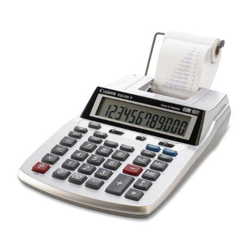 Canon P23-DH V 2 color mini-Desktop Printing Calculator by Canon