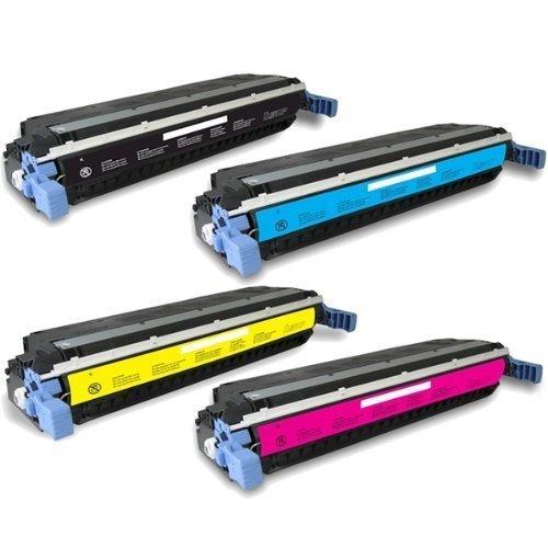 4Pk HP Color LaserJet 3500 3500N 3550 3550N COMPATIBLE TONER Cartridge SET BK M C Y