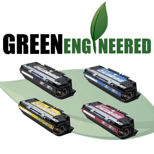 GreenEngineered Remanufactured HP 308A 309A Toner Cartridges Q2670A Q2671A Q2672A Q2673A 4 Pack Toner Bundle - For HP Color LaserJet 3500 3500N 3550 3550N