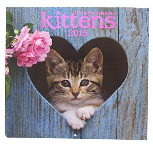 2015 Wall Calendar - 16 Month Kittens Design by 2015 Calendar