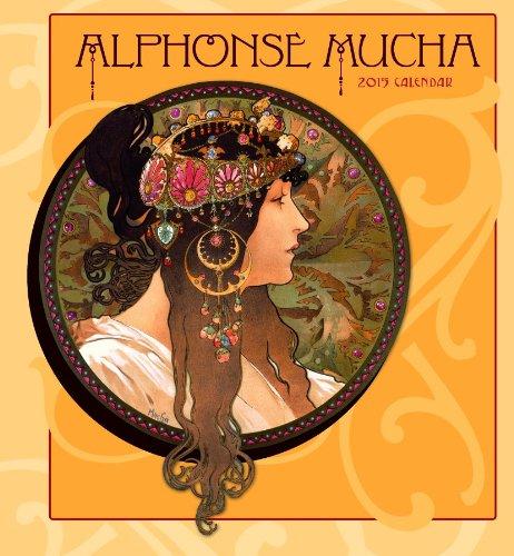 Alphonse Mucha 2015 Calendar