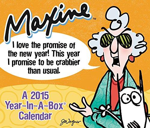 Maxine Boxed Calendar 2015