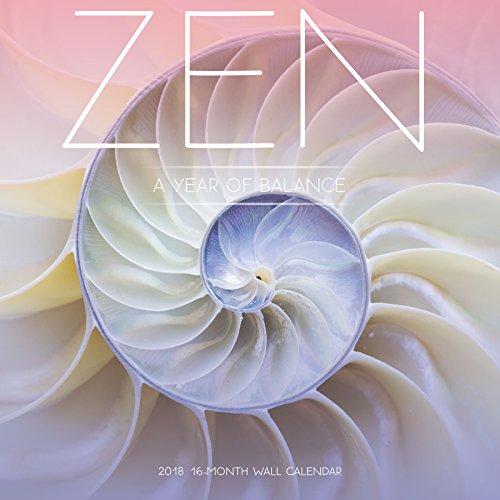 Avalon 2018 Zen Wall Calendar 16 Month Calendar 12 x 12 inches  82368