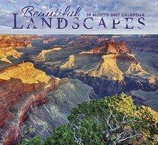 Beautiful Landscapes 2017 Wall Calendar 16 Month