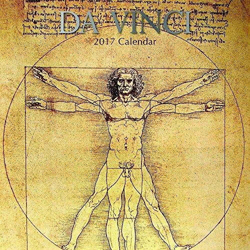 Famous Masterpieces Classic Art Artwork Paintings by Leonardo Da Vinci - 2017 Monthly Wall Calendar – 16 Month Calendar 12 x 12