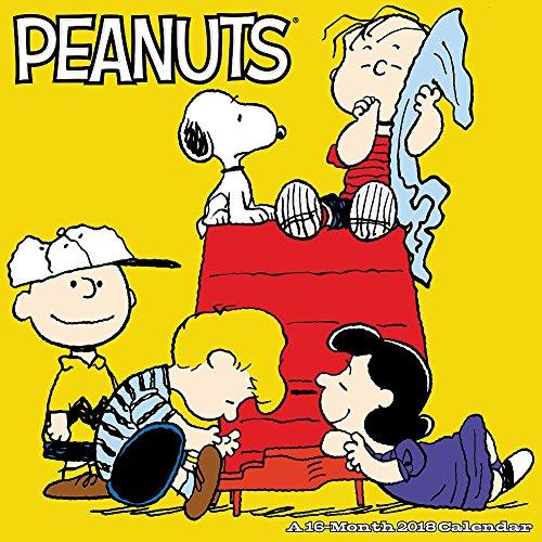 2018 Peanuts 12 X 12 Wall Calendar w Snoopy Charlie Brown Lucy Linus