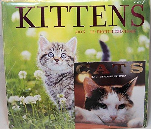 Kittens 2015 Wall Calendar w Miniature Cats Calendar