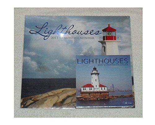 Lighthouses 2016 Wall Calendar w Miniature Light Houses Calendar
