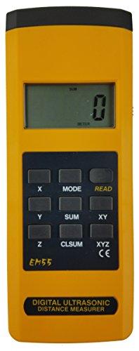Sinometer EM55 Electronic Measuring Tape Ultrasonic 50
