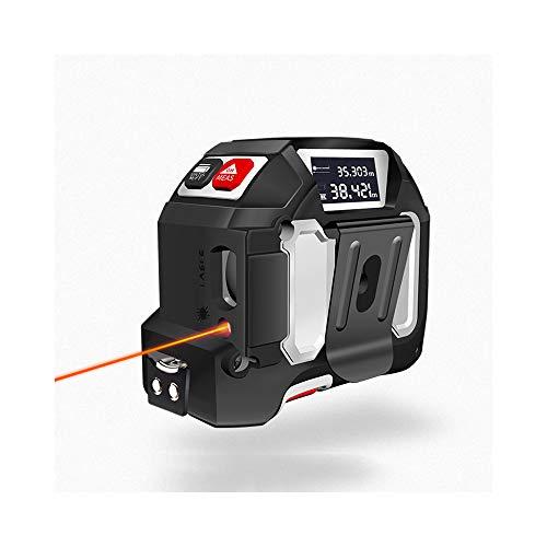 Tape Measure Infrared Electronic Tape Measure PIR Measurement Intelligent Tape Measure Multi-Function High-Precision Digital Display Range Finder 40M5M