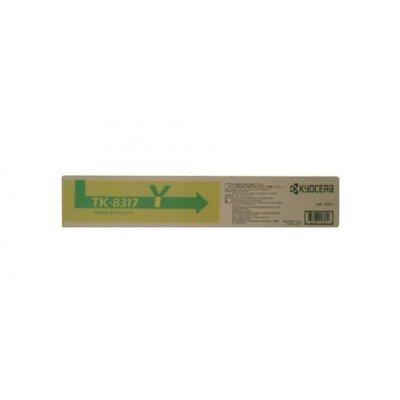 Genuine Kyocera Mita TK-8317Y Yellow Toner Cartridge For Taskalfa 2550CI
