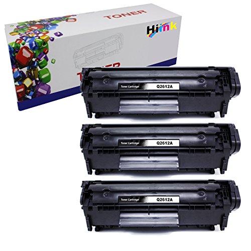 HI Ink 3 PK 12A Q2612A Toner Cartridges for HP Laserjet 1010 1012 1015 1018 1020 1022 1022n 1022nw 3015 M1005 M1319F Printer
