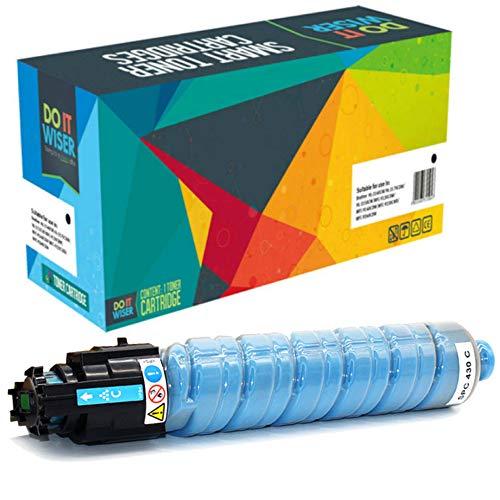 Do it Wiser Compatible Toner Cartridge Replacement for Ricoh Aficio SP C440DN SP C430DN SP C430 SP C431DN SP C441DN  821108 Cyan