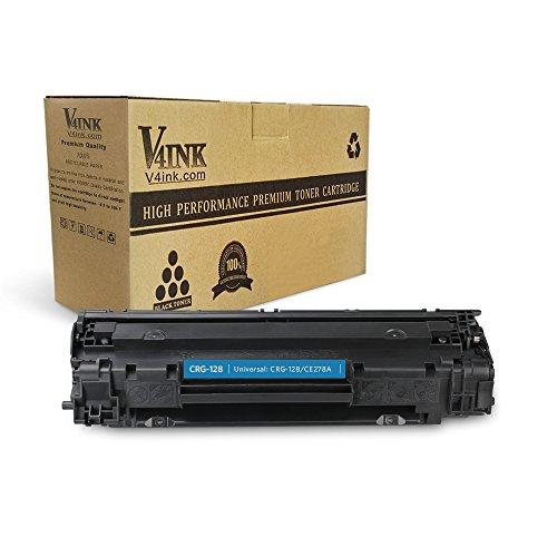 V4INK 1 Pack Compatible Canon 128 toner CE278A 78A Toner Cartridge for Canon imageclass D550 D520 MF4770n MF4570dw FaxPhone L100 L190 MF4770N MF4450 LaserJet P1606dn P1566 P1560 M1536dnf