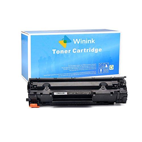 Winink 1PK BlackNew Compatible With Canon CRG128HP CE278A High Yield Toner Cartridge for Canon Imageclass D550D520MF4770MF4570dn HP LaserJet P1606dnP1566P1560 M1536dnf
