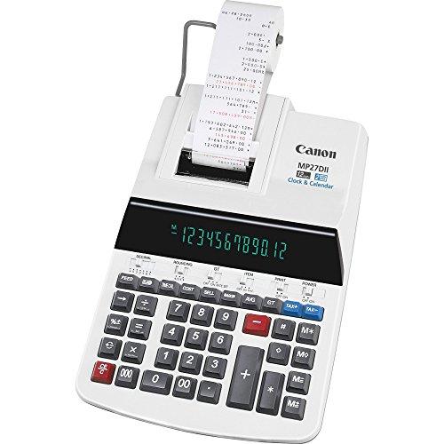 Canon MP27DII 12-Digit Calculator wPrinting 8-78x13x3 Beige