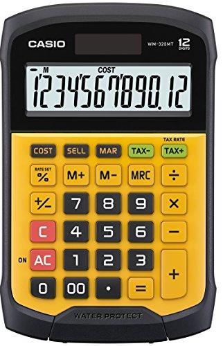 Casio waterproof and dustproof calculator WM-320MT-N mini just type 12 digits