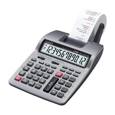 Casio HR-100TM 2-Color Printing Calculator