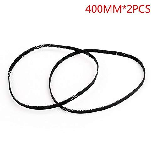 2PCS 400mm Timing Belt Closed Loop Rubber for 2GT 6mm 3D Printer Printer Parts