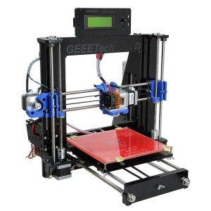 Geeetech Unassembled Full Black Color Acrylic Quality High Precision Prusa Mendel I3 3D Desktop Printer