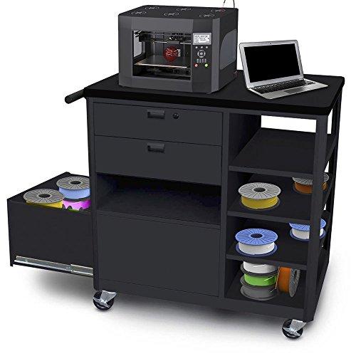 Marvel Vizion 3-D Printer CartWorkstation - 46H x 26W x 24D 2 drawer