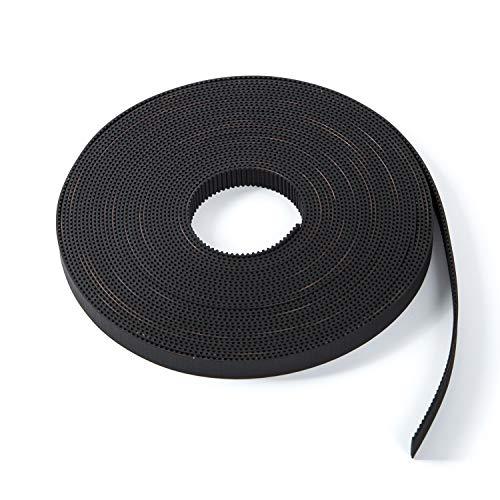 SYM 3D Printer Printer Accessories Pen Timing Belt 10mm Width Rubber Fiberglass for 3D Printer Opened-Belt 5M