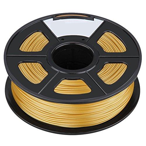 3D Printer Filament - SODIALRNew 3D Printer Printing Filament ABS -175mm 1KG for Print RepRap Color Golden