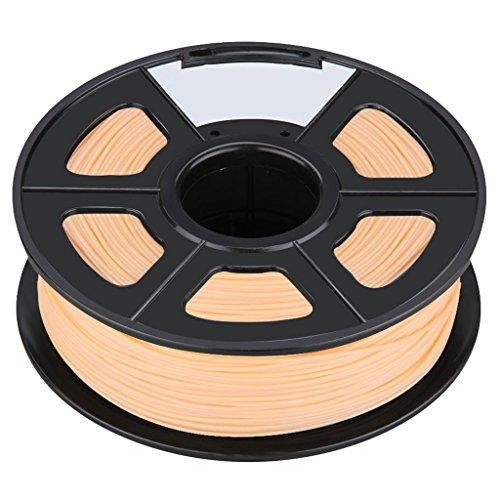 3D Printer Filament - SODIALRNew 3D Printer Printing Filament ABS -175mm 1KG for Print RepRap Color complexion