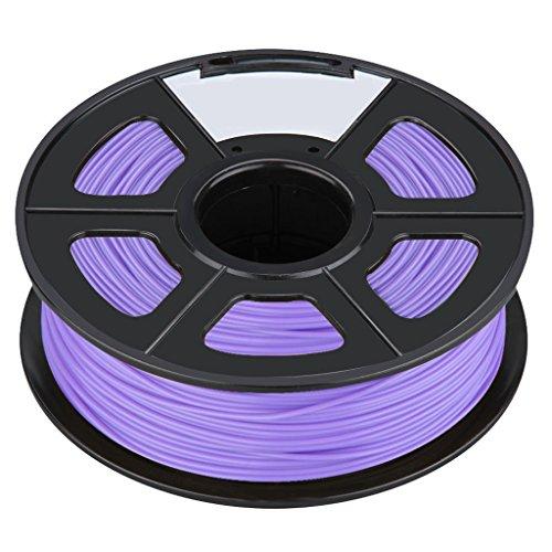 3D Printer Filament - SODIALRNew 3D Printer Printing Filament ABS -175mm 1KG for Print RepRap Color purple