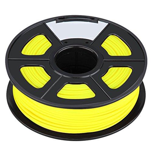 3D Printer Filament - SODIALRNew 3D Printer Printing Filament ABS -175mm 1KG for Print RepRap Color yellow