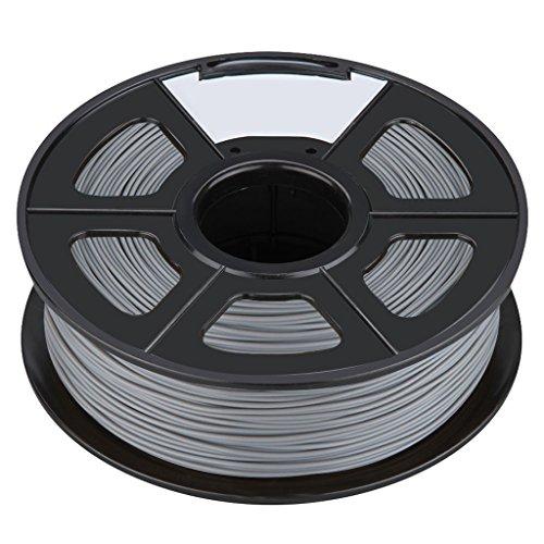 3D Printer Filament - TOOGOORNew 3D Printer Printing Filament ABS -175mm 1KG for Print RepRap Color Silver