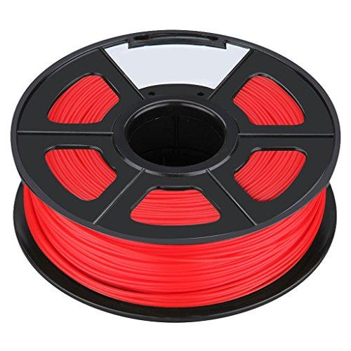 3D Printer Filament - TOOGOORNew 3D Printer Printing Filament ABS -175mm 1KG for Print RepRap Color red