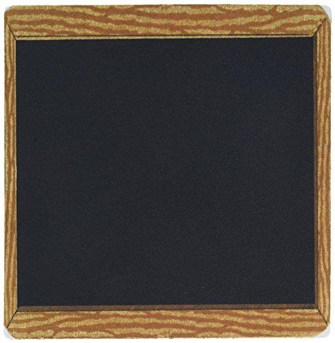 3dRose 8 X 8 X 025 Wood Framed Vintage Chalkboard Mouse Pad mp_109307_1
