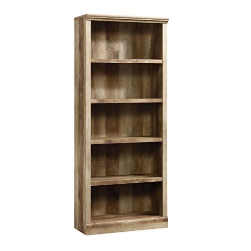 Sauder East Canyon 5 Shelf Bookcase Craftsman Oak finish