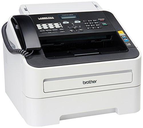 Brother FAX-2840 High Speed Mono Laser Fax Machine Darklight gray - FAX2840