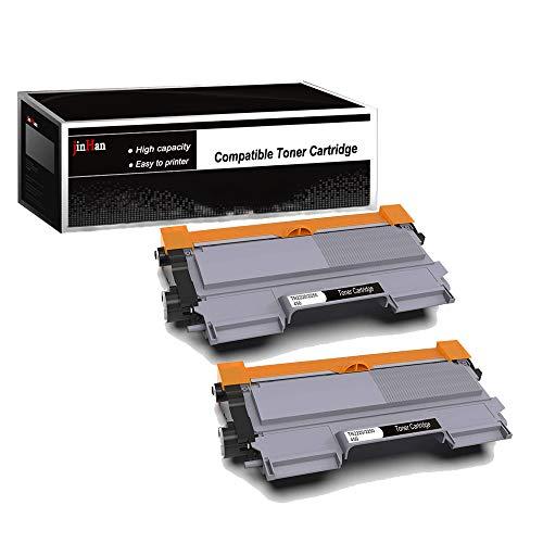 JinHan TN450 TN420 Toner Compatible for Brother TN-450 TN-420 Toner Cartridges 2 Black Use in Brother HL-2270DW HL-2280DW MFC-7860DW DCP-7065DN MFC-7360N HL-2230 HL-2240 MFC-7460DN FAX-2940 Printer