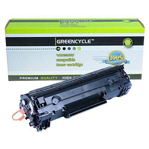 GREENCYCLE 1 PK C128 Black Laser Toner Cartridge Compatible Canon 128 Toner For Canon Faxphone L100 Faxphone L190