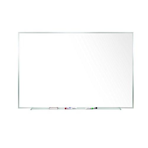 485 x 1205  Aluminum Frame Porcelain Magnetic Whiteboard 1 Marker 1 Eraser