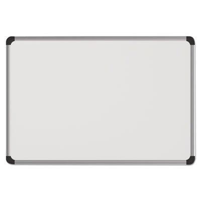 Universal Magnetic Dry Erase Board Melamine 48 x 36 White
