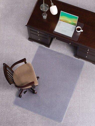 Mat Depot Premium Beveled Edge Chair Mat 48 x 72 inches 14 Thick Clear
