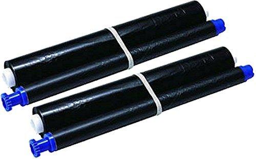 PC-UKNET Kx-Fa52X Fax Film Ink For Panasonic Fax Machine Black Ink Cartridges 2 Rolls
