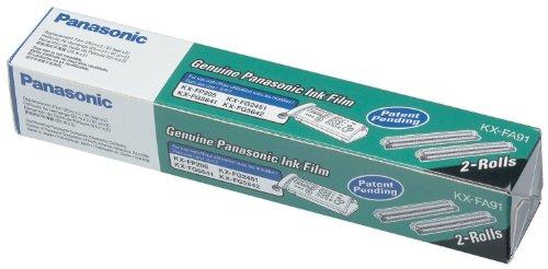 o Panasonic o - Replacement Print Film Roll Fax Machines Black