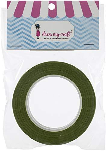 Dress My Craft FL8382E Self-Adhesive Floral Tape 5 X60-Olive Green