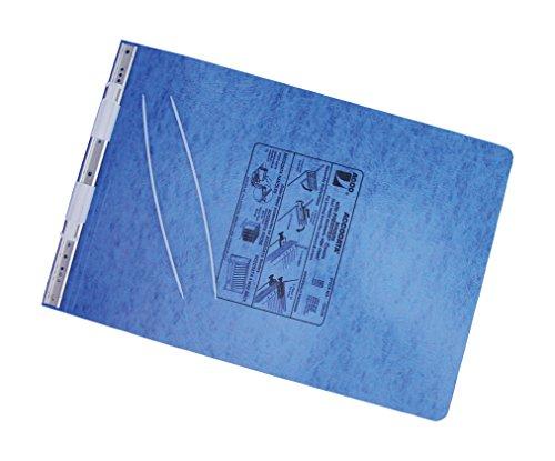 ACCO Pressboard Hanging Data Binder 11 x 14875 Inches Burst Sheets Light Blue 54272