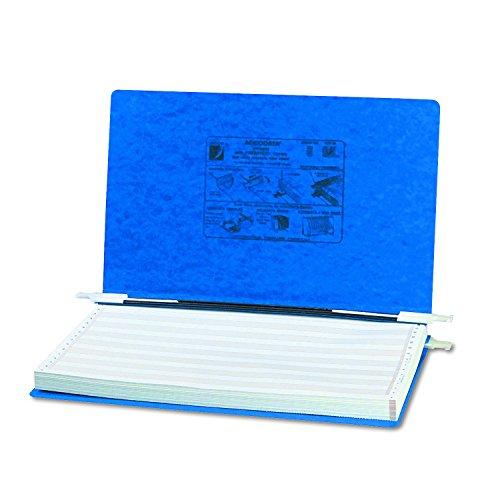 ACCO Pressboard Hanging Data Binder Unburst Sheets 1487 x 85 Inches Dark Blue 54043