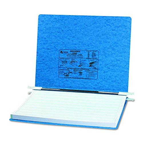 ACCO Pressboard Hanging Data Binder Unburst Sheets 14875 x 11 Inches Light Blue 54072