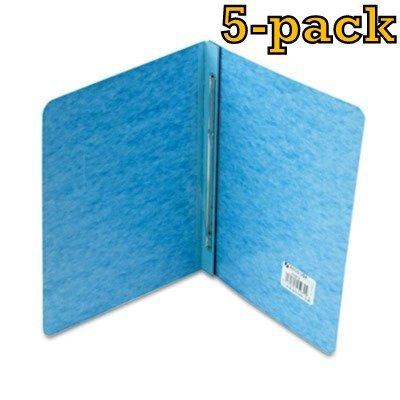 ACCO Pressboard Report Cover Letter Light Blue 5