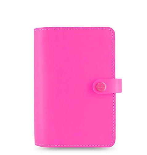Filofax 2016 The Original Personal Leather Organizer Fluro Pink 022431