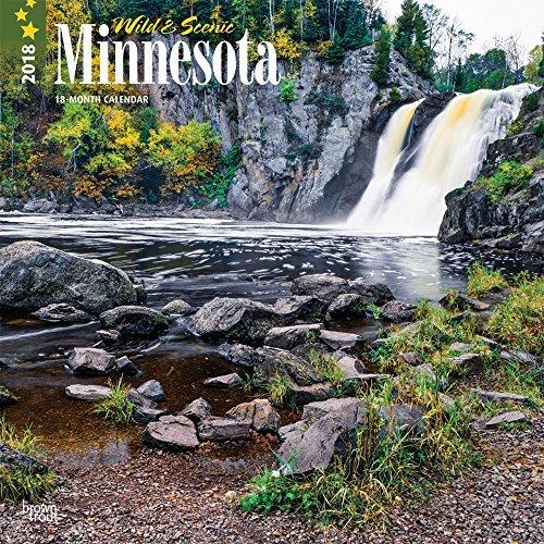 Minnesota Wild Scenic 2018 Monthly Square Wall Calendar